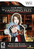 Cate West: The Vanishing Files (Nintendo Wii)